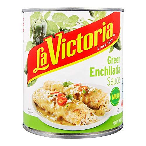 La Victoria Green Chile Enchilada Sauce Mild, 28 Ounce