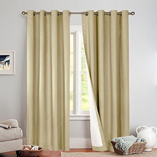 grommet top curtains 95 - 3