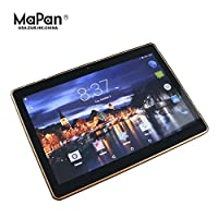 "Tablet Android 6.0 16GB Mapan F10B3G Smart PC Tablet Pc 10"" Pulgadas 3G Quadband, Dual Sim y Doble Camara y mucho mas Color Negro"