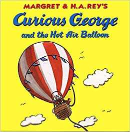 Image result for curious george hot air balloon