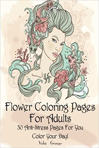 130 Flower Coloring Pages For Adults (FREE) | 499x333