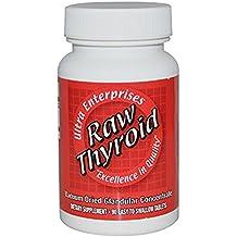 Ultra Glandular Enterprises Raw Thyroid 90 Easy To Swallow Tablets