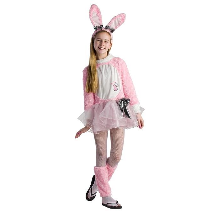 Amazon.com: Las niñas TWEEN Energizer conejo Pascua Disfraz ...