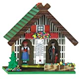 Trenkle Uhren German Black Forest weather house TU 803