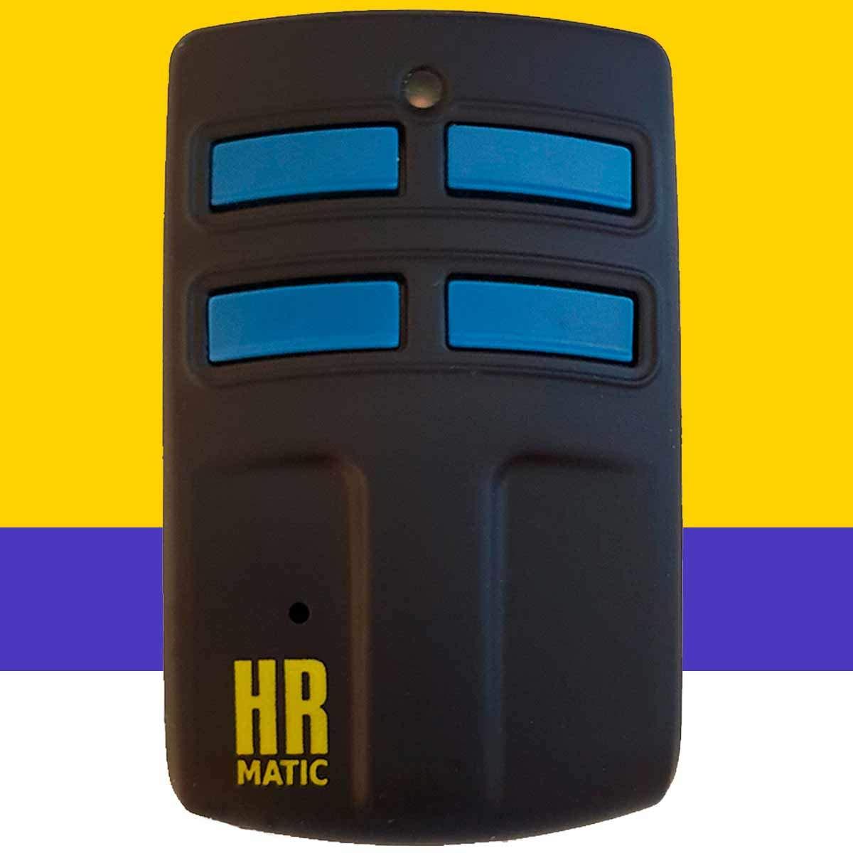 Mando de Garaje Universal HR MULTI 2 compatible con el 95% de mandos de garaje