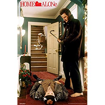 Pyramid America Home Alone Harry and Marv Crowbar Funny Christmas Movie Kevin McAllister Wet Bandits Holiday Film Cool Wall Decor Art Print Poster 12x18