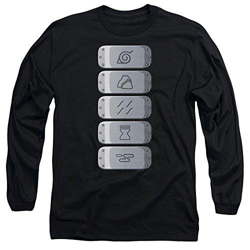 Sound Village Headband - Naruto Shippuden Village Headbands Unisex Adult Long-Sleeve T Shirt for Men and Women