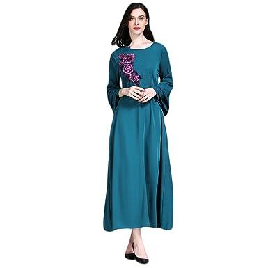 KleidDamen Lange Baggy Kleid Zarupeng Moslemische Maxi Islamische MVpqSUGz