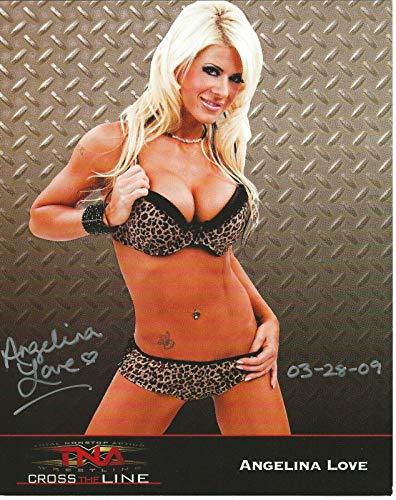 TNA Promo 8x10 Photo WWE - Autographed Wrestling Photos ()