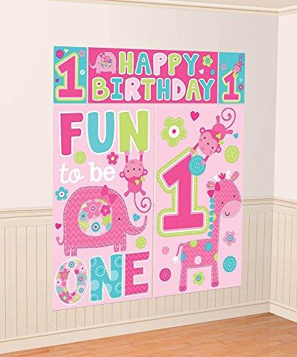 One W (Birthday Party Decorating Ideas)