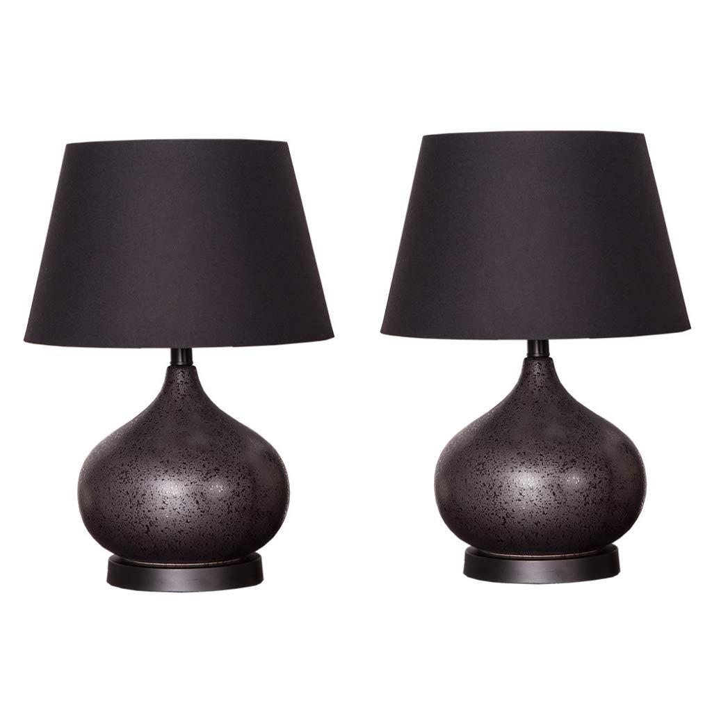 Startseite Keramik Tischlampe, CMCL Nachttischlampe Kreative Kreative Kreative Schlafzimmer Wohnzimmer Dekoration Tischlampe Set 2 B07H4MYF41 | Elegante und robuste Verpackung  849b9f
