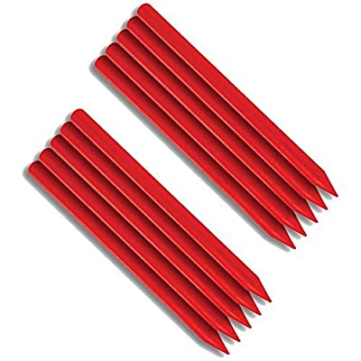 FastCap FATBOYREDREFILL Woodworking Fatboy Refill with 5 Red Crayons Refills: Office Products