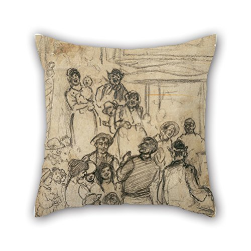 20 X 20 Inches / 50 By 50 Cm Oil Painting Jerome Myers - Street Singer Throw Cushion Covers,double Sides Is Fit For Home Office,family,wedding,pub,kids Boys,girls (California Split Dvd compare prices)