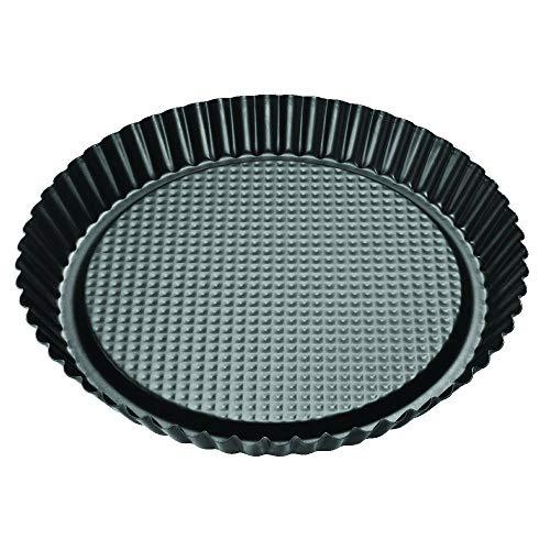 Zenker 6522 Pie Pan, Black/Metallic, 11.81