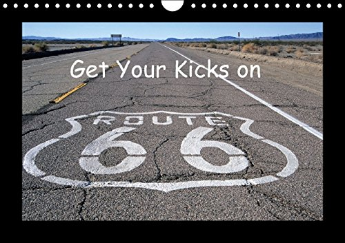 Get Your Kicks on Route 66 (Wandkalender 2015 DIN A4 quer): Die Route 66, auch Mother Road genannt, ist legendär. Auch heute noch kann man einen aufleben lä (Monatskalender, 14 Seiten)