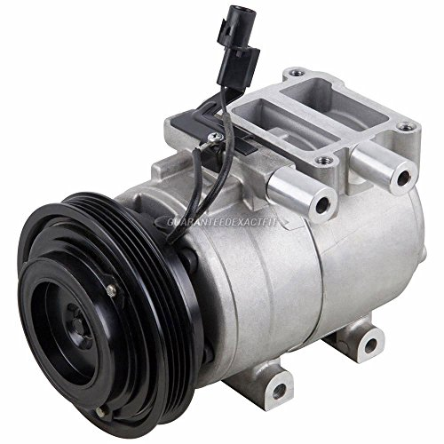 AC Compressor & A/C Clutch For Hyundai Accent 1.6L 2001 2002 2003 2004 2005 - BuyAutoParts 60-01780NA NEW