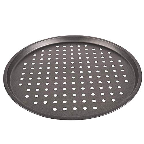 Pizza Pan Non-Stick 11-Inch Reusable Pizza Tray Pie Pans Crisper