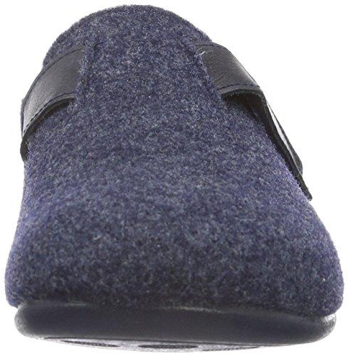 FlorettBritta - pantuflas sin forro Mujer Azul - Blau (Marine 25)