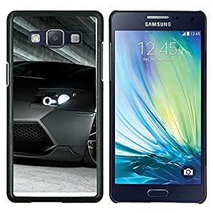Caucho caso de Shell duro de la cubierta de accesorios de protección BY RAYDREAMMM - Samsung Galaxy A5 A5000 - Coche de carreras