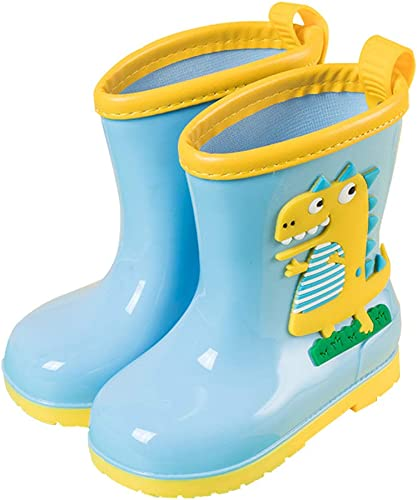 FolHaoth Kids Dinosaur Rain Boots Boys