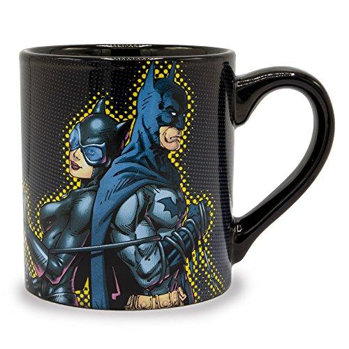 Silver Buffalo DC123232 DC Comics Ceramic Mug, Multicolor