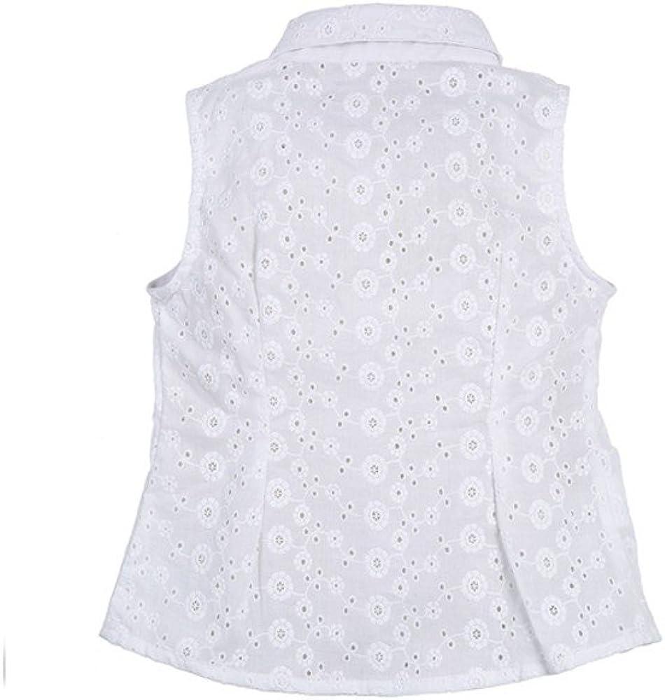 Camisa niña bonita RONDA _ camisa niña blanca, camisa niña verano, blusa niña flamenca: Amazon.es: Ropa y accesorios