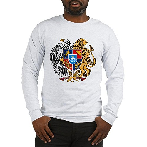 - CafePress Armenian Coat of Arms Unisex Cotton Long Sleeve T-Shirt Ash Grey