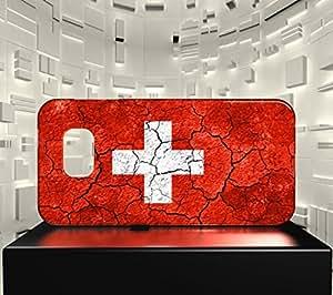 Funda Carcasa para Galaxy S7 Bandera SUIZA 03