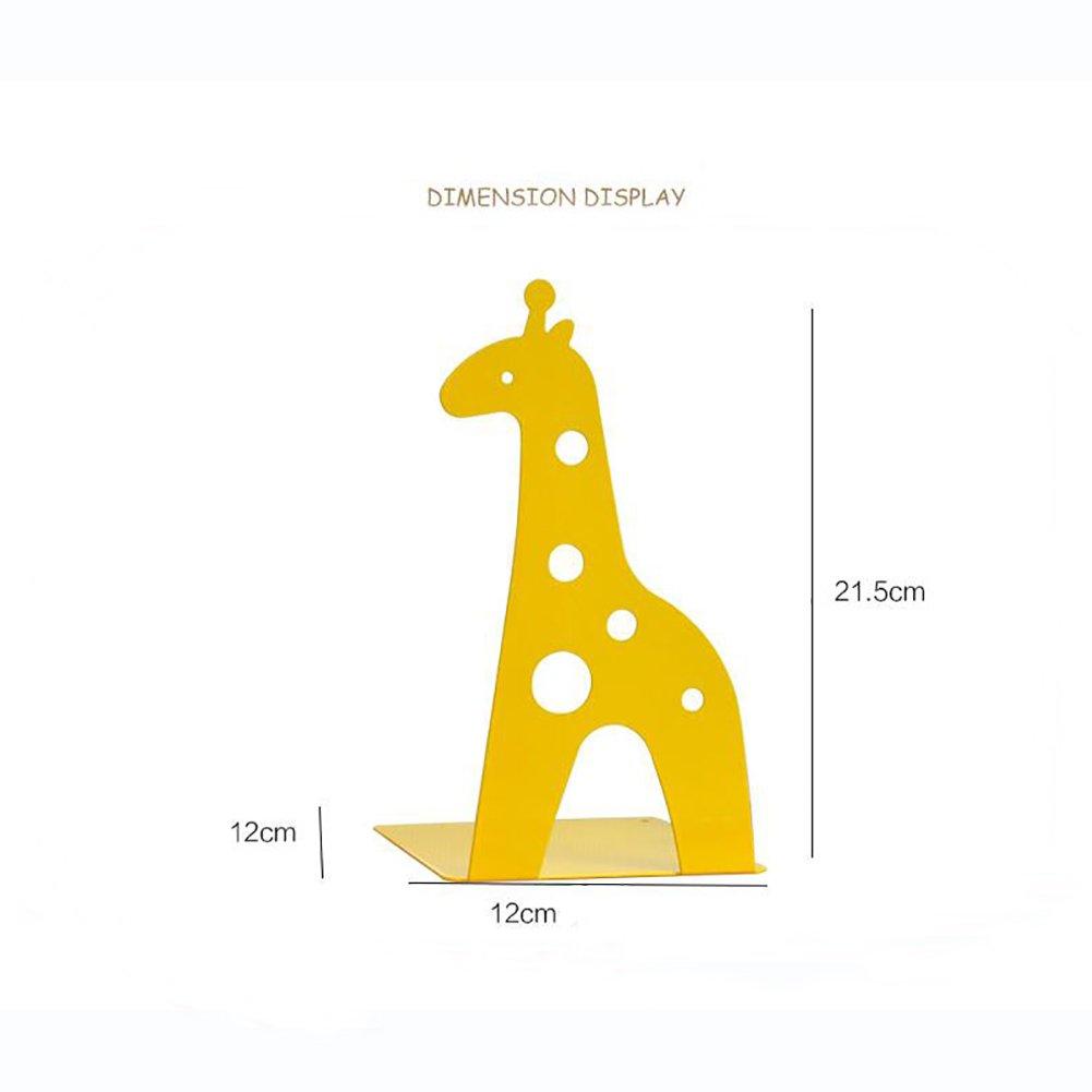 SANDM Sujetalibros Escritorio, 1 par niños Sujetalibros para niños par estanterias Lectura Múltiples Funciones Aprendizaje Animales Decorativos sujetalibros Estudiante-C 21.5x12x12cm(8x5x5inch) cb692b