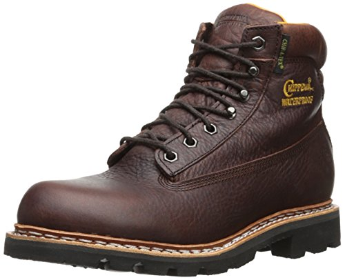 Chippewa Mens 6 Imperméable À Leau Isolée 25945 Lace Up Botte Brun
