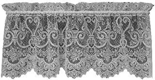 product image for Heritage Lace English Ivy 60-Inch Wide by 22-Inch Drop Valance, Ecru