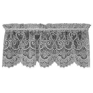 Heritage Lace English Ivy 60-Inch Wide by 22-Inch Drop Valance, Ecru