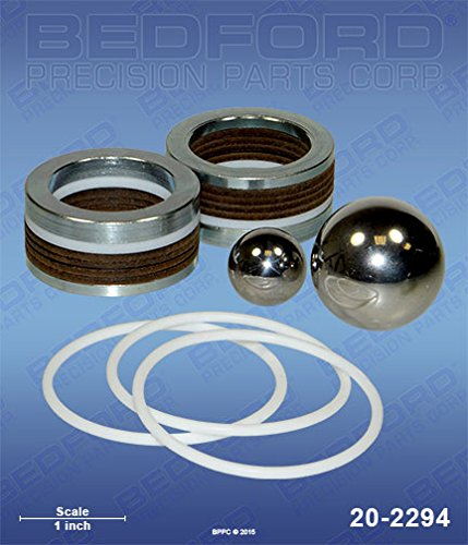 Bedford Precision Aftermarket Replacement for the GRACO 237-239 Bedford 20-2294 Kit - DuraFlo 750, 33:1 Bull (Leather/Teflon) ()