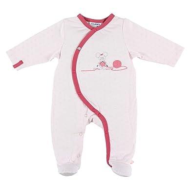 c414a4616454e Noukie s Noukies Z886136 Pyjama grenouillère en Jersey Double Face Bébé  Fille  Amazon.fr  Vêtements et accessoires