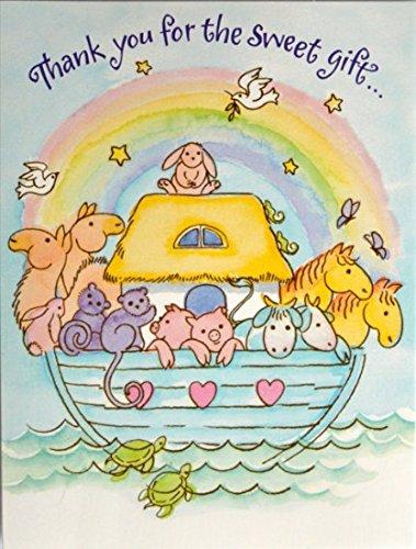 80 Noahs Ark Thank You Cards