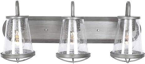 in Designers Fountain 87003-SP Darby 3 Light Bath Bar 24 in