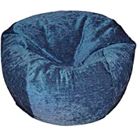 Ahh! Products Chenille Navy Washable Kid Bean Bag Chair