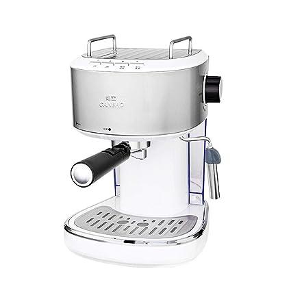 Cafetera Máquina de café Comercial semiautomática máquina espumante a Vapor de Alta presión pequeña máquina de