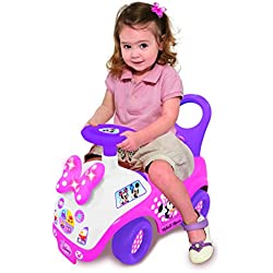 Kiddieland Toys Limited Girls Disney Light N' Sound Minnie Mouse Ride-On
