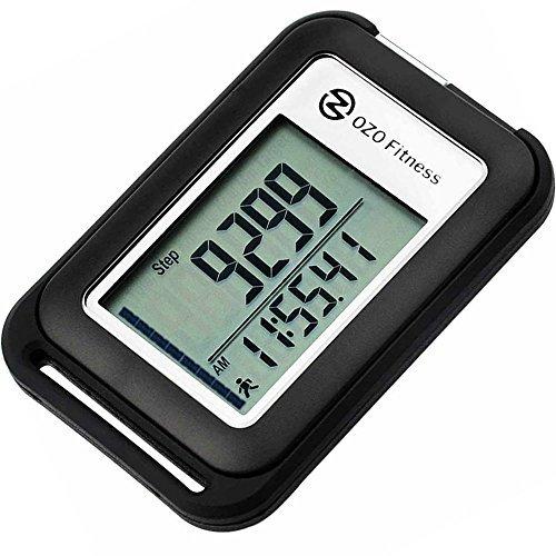 SC 3D Digital Pedometer | Best Pedometer for Walking. Track Steps & Miles,...