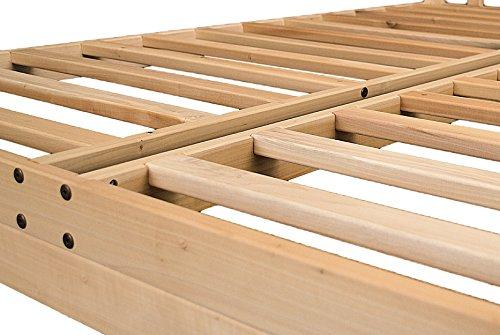 Nomad 2 Platform Bed Frame Solid hardwood Queen PLUS