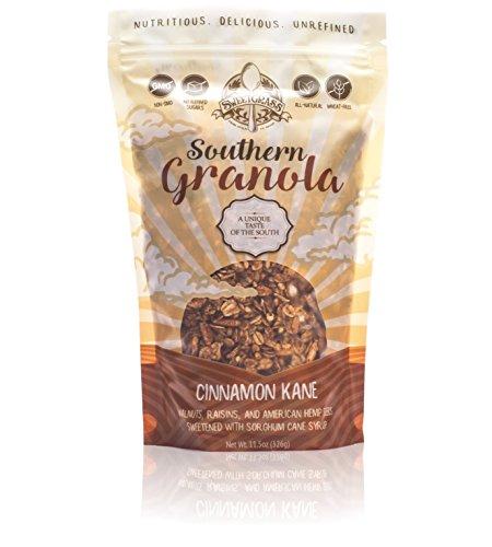 Sweetgrass Southern Granola Non-Gmo, No Refined Sugar, U.S. Chia