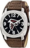 Game Time Men's NFL Defender Watch with Faux-Leather Band