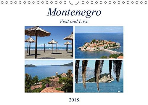 Montenegro - Visit and Love (Wandkalender 2018 DIN A4 quer): Montenegro ist ein Land der Kontraste, auf der einen Seite befindet sich die Adria mit ... (Monatskalender, 14 Seiten ) (CALVENDO Orte)