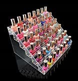 1-Set Pride Popular Hots Nail Polish Organizer Fashion Art Grids Storage Makeup Lip Gloss Display Color Transparent 6 Tier Style #09
