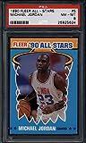 Michael Jordan 1990 Fleer All-Stars #5 PSA 8 NM-MT