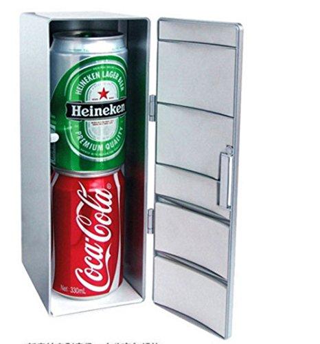 DaHanBL Mini Frío y Cálido Frigorífico USB Bebida: Amazon.es: Hogar