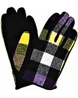 Luxury Divas Woven Warm Winter Gloves