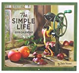 2019 Wall Calendar (''The Simple Life'' by Irvin Hoover)