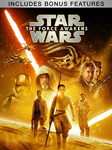 Star Wars: The Force Awakens (Plus Bonus Features) (Star Wars A New Hope Original Version)